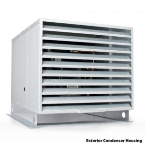 Exterior Condenser Housing for Split Systems