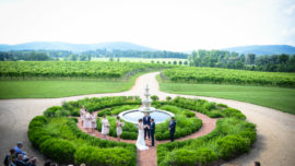 keswick vineyards virginia wine wedding