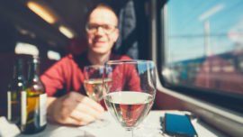napa valley wine trains travel pairing
