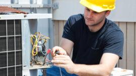 hvac technician inspection whisperkool cooling unit wine cellar refrigeration specialist