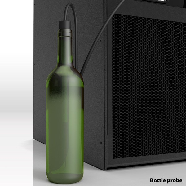 bottle probe wine cellar cooling aging storage whisperkool