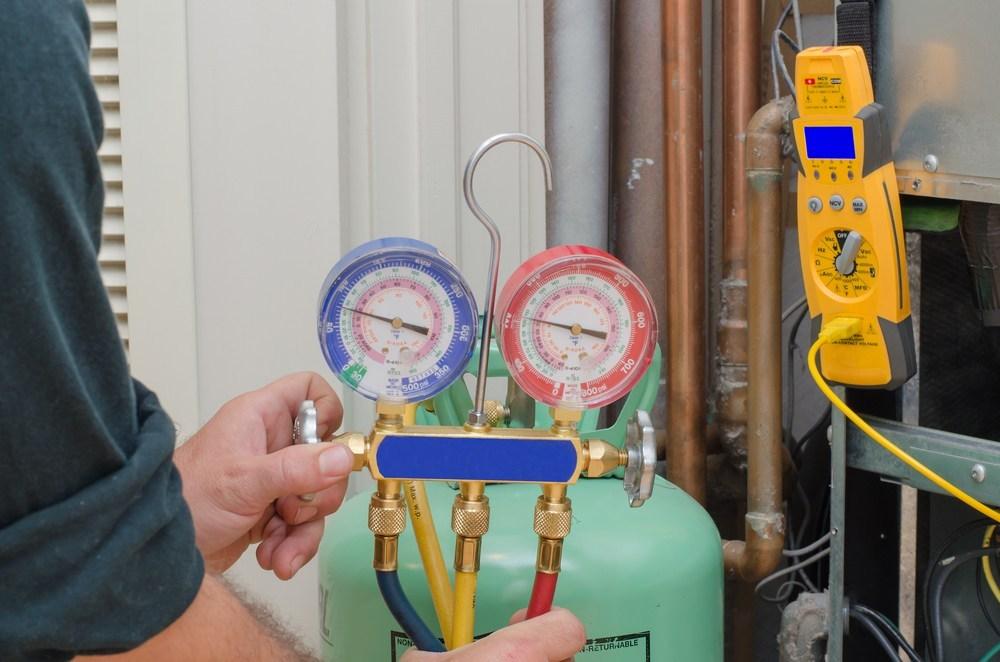 manifold refrigerant charging hvac system wine cellar cooling unit whisperkool